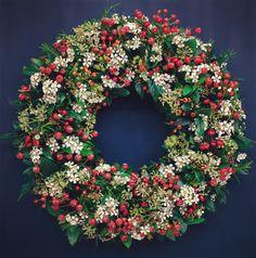 Floral Starkey wreath design