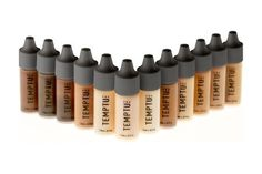 TEMPTU PRO - 12 Color DURA Total Skin Foundation Starter Set in 1/4 Ounce Bottles *** Learn more by visiting the image link.