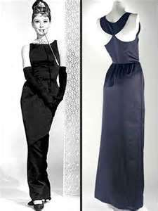 Love the back of this dress. Audrey in Chanel 1950's   #topshoppromqueen
