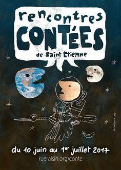 affiche des Rencontres contées de Saint-Étienne (édition 2017)