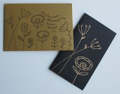 A late promise fulfilled Mail Room, Brown Envelopes, Journal Design, Brown Paper, Mail Art, Cute Cards, Zentangle, Gift Tags, Mixed Media