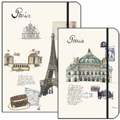 Watercolor Travel Journal - Paris-first spot on my major trip around the world after I can fit in one seat on an airplane.