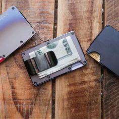 Aluminum Wallet + Money Clip