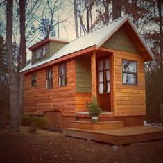 Tiny House Living Couples 204 Sq. Ft. Dream Home