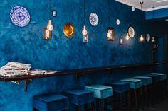 Kaboompics - Free High Quality Photos - Interior of a modern restaurant