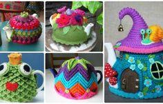 25 Crochet Knit Tea Cozy Free Patterns [Picture Instructions]
