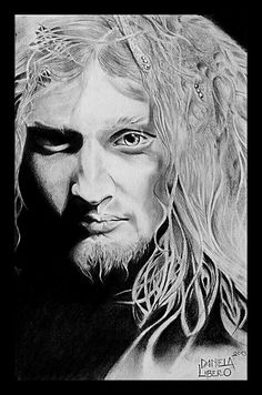 Layne Staley - pencil on paper