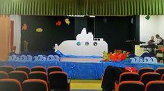 denizaltı#dekor#konferansalonu#tiyatro