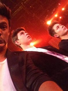 Selfie taken by Cam of Nash and Carter at the Billboard Music Awards 5/18/14