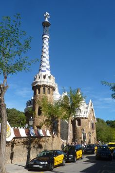 Espagne - Barcelone - Parc Guell by Gaudi
