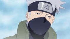 Kakashi Hatake - screencap by me.