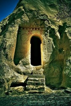 Ancient keyhole door, Turkey | Most Beautiful Pages