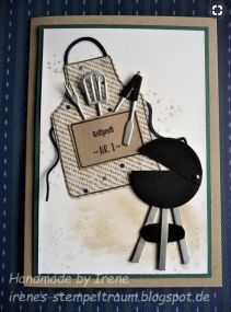 SU Apron of Love For Husband | Cindy Lee Bee Designs