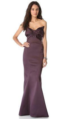 Zac Posen Strapless Gown. Only $5,000!