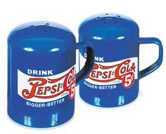 Pepsi pepper and salt shaker