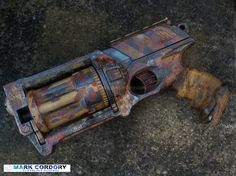Post Apocalyptic NERF conversion. Made by Mark Cordory Creations www.markcordory.com
