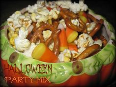 Outnumbered 3 to 1: Halloween Candy Corn Party Mix