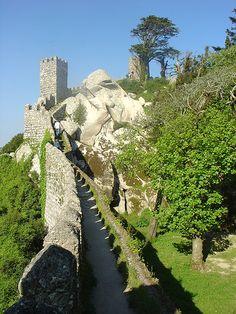 Castelos e Fortalezas de Portugal - castelo dos Mouros