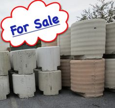 Special sale Used Concrete Ballast Tent Weights for anchoring tents. Blocks were designed by tent professionals for ease in handling storage and u2026 & Special sale: Used Concrete Ballast Tent Weights for anchoring ...