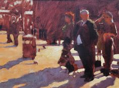 2 Great Painting Tips from Kevin MacPherson on light, shadows and values.
