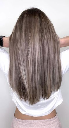 57 Cute Autumn Hair Colours and Hairstyles : Tone down brown Fall Hair Color For Brunettes, Fall Hair Colors, Hair Colours, Summer Hair Colour, Long Hair Colors, Highlighted Hair For Brunettes, Hair Colour Ideas, Cool Tone Hair Colors, Hair Color Ideas For Brunettes Short