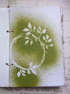 handmade book by Alison at Words and Pictures