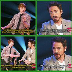 Robert Downey Jr. ...Things just go missing