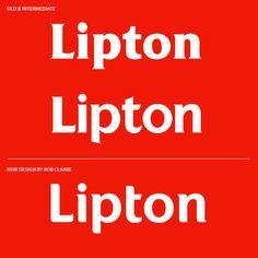 Lipton - Rob Clarke Type Design & Lettering