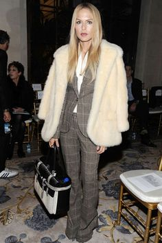 Rachel Zoe carrying the Reed Krakoff Boxer Tote