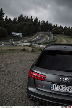 Just perfect holidays - our review of Audi RS6 C7 Avant: http://exoticcars.pl/testy/audi-rs6-avant/