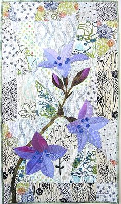 Del Thomas lives in Southern California.  She is a quiltmaker and a collector of contemporary/art quilts.