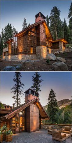 Hazel's Hideaway - Alpine Meadows, CA by OOE Design http://www.ooena.com/hazels