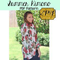 Patterns for Pirate Kimono