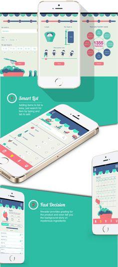 Nreader App by Amanda koh jia xin, via Behance: