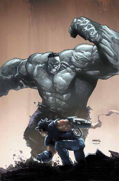 Hulk vs Wolverine Age of Apocalypse cover art by Humberto Ramos Hulk Marvel, Marvel Dc Comics, Hulk Wolverine, Ms Marvel, Captain Marvel, Punisher Marvel, Marvel Heroes, Comic Book Artists, Comic Book Characters