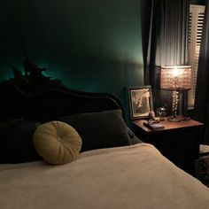 Green Bedroom Walls, Room Ideas, Goth, Gothic, Goth Subculture