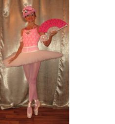 pink waltz,andrea dobrodinska,costume created too