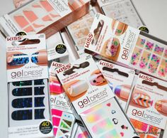 NEW for Spring: Gel Dress Nail Wraps by Kiss