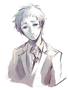 Tohru Adachi, Persona 4 by KK.nishi