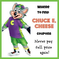 A trip to Chuck E. Cheese doesn't have to be expensive! Here are some tips to keep costs down. How to find Chuck E Cheese coupons.