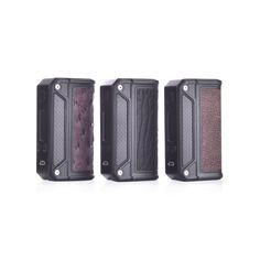 Lost Vape Therion DNA166 TC Vape MOD - What''s Included:1 x Lost Vape Therion DNA166 TC Vape MOD1 x USB Cable1 x User ManualSpecs & FeaturesRequires 2 x 18650 High-Drain Batteries (Sold Separate)Wattage Range: 1 - 167WVoltage Range: 1 - 7.4VWattage Mode Resistance Range: 0.1 - 2.0 ohmTemperature Control Resistance Range: 0.08 - 1.0 ohmTemperature Range: 200 - 600°F1A USB ChargerAtomizer, Weak Battery, Temperature, Resistance, Auto Power Down, and Heat ProtectionEscribe Software…