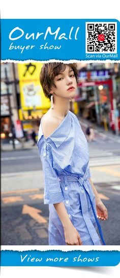 blue striped dress with tied_#dress #dressbridesmaid #dresswedding #mididress #dresscute #floraldress #sundress #stripedress #sexydress #elegantdress,  please click the picture for detail. http://ourmall.com/?aIJVBj