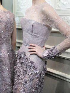 Elie Saab Haute Couture Spring 2013-14    Backstage