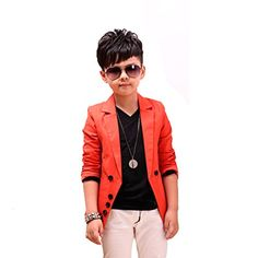 GetUBacK Boys' Fashion Blazers Casual Jackets ** Check out this great image @