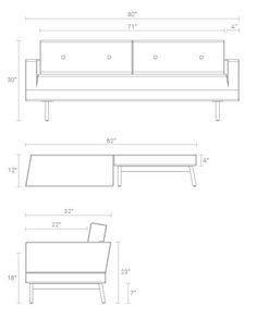 One Night Stand Sleeper Sofa Bed – Modern Sofa Beds | Blu Dot