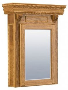 Mann Manufacturing New Orleans Medicine Cabinet by Mann Manufacturing. $1313.00. The design on the New Orleans has a French influence with a strong lamb's tongue cap. The ornate sides have modillion blocks and acanthus leaves. Made of solid wood, this cabinet comes with adjustable shelves, a 1/4 inch thick beveled mirror, and an interior finished in white laminate. The recessed or wall mount styled Medicine Cabinet is offered in standard, oversized, and tallboy ...