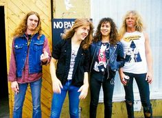 early metallica | metallica early days | Tumblr