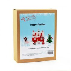 Christmas Novelty DIY Craft Kit Create a happy family. Have fun creating Christmas decorations to hang around your home or to give as a special handmade gift. Craft Kits, Diy Kits, Craft Projects, Fun Crafts, Crafts For Kids, Christmas Crafts, Christmas Decorations, Happy Family, Xmas Gifts