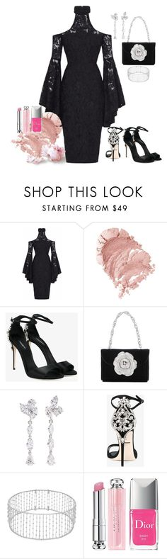 """""""Halloween Chic"""" by donnabellainc ❤ liked on Polyvore featuring Dolce&Gabbana, Oscar de la Renta, Anyallerie and Christian Dior"""