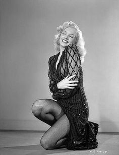 "alwaysmarilynmonroe: "" Marilyn in a publicity still for Ladies of The Chorus in 1948. """